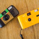 【撮り比べ】「KODAK M35 フィルムカメラ」と「FUJICOLOR 写ルンです シンプルエース」